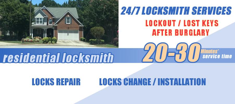 Residential locksmith Suwanee